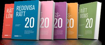 Nu finns Redovisa Rätt 2020 i lager