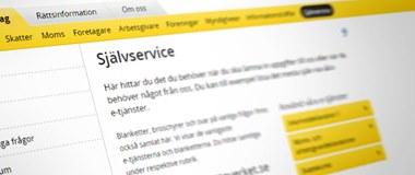 Ny e-tjänst för inlämning av kontrolluppgifter