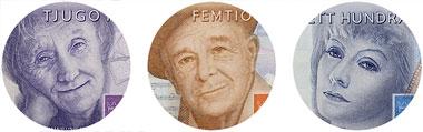 H�r �r Sveriges nya sedlar och mynt