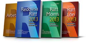 Nu kan du förhandsbeställa Redovisa Rätt 2013