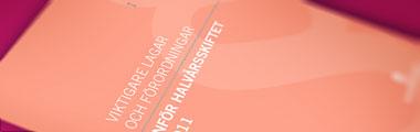 Viktigare lagar och förordningar inför halvårsskiftet 2011