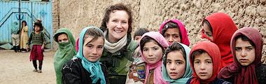 Lottas företag hjälper kvinnor i Kabul