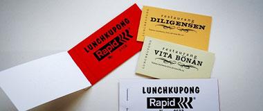 Restaurangens egna lunchkuponger behöver inte registreras i ett kassaregister