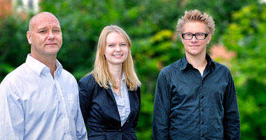 Edison förstärker kontoret i Lund med tre nya medarbetare